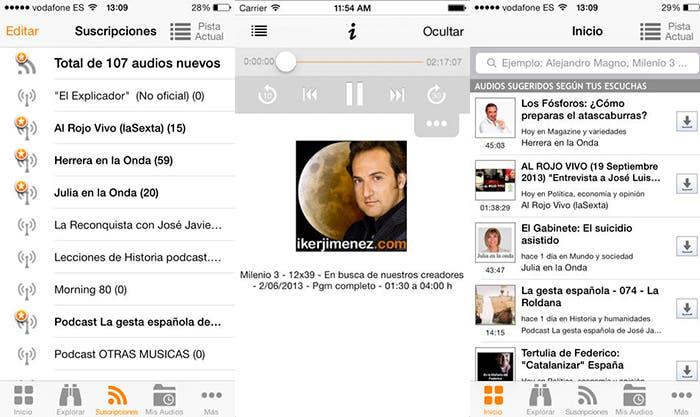 Todos todos podcasts en Ivoox