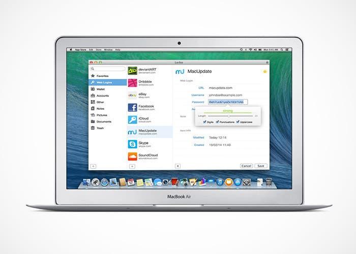 Locko seguridad en Mac