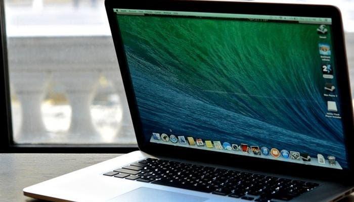 Perfil de un MacBook Pro Retina
