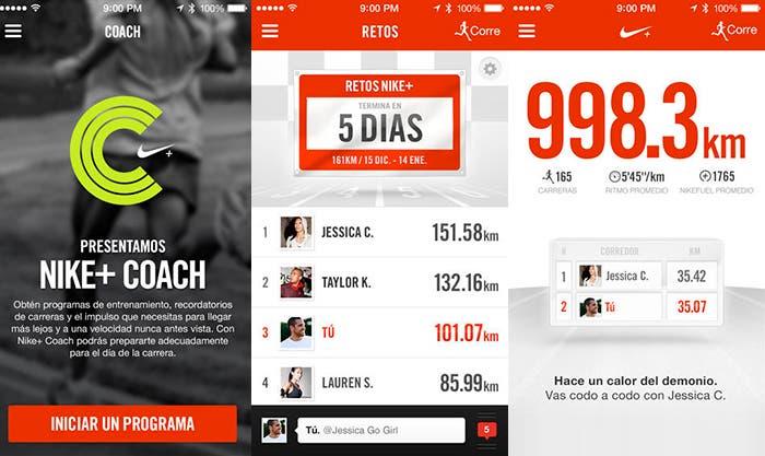 Aplicación Nike+