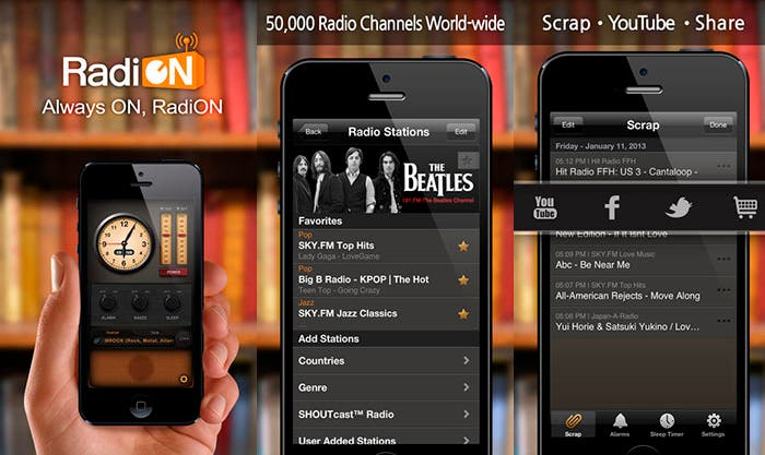 Sintoniza la radio en tu iPhone con RadiON Free
