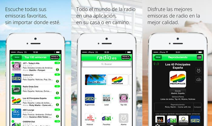 Sintoniza tus emisoras de radio en Radio.es
