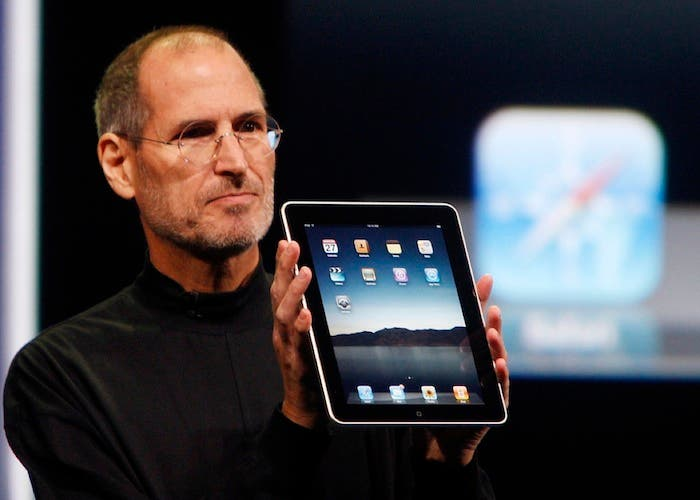 iPad keynote Steve Jobs