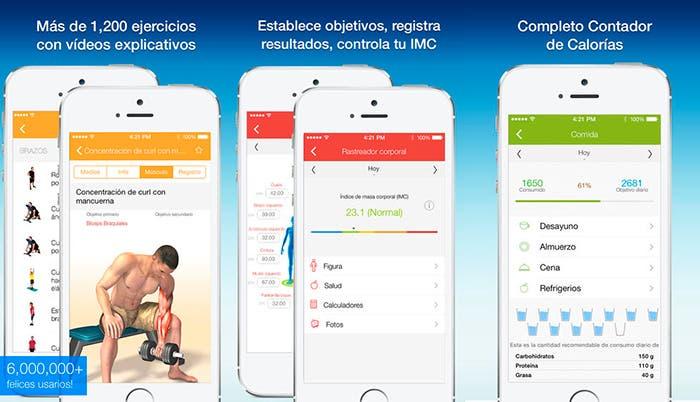 Aplicación Todo-en-uno Fitness