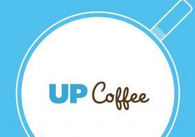 Logotipo de la aplicación Up Coffee