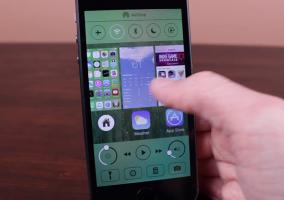 Auxo 2 en un iPhone