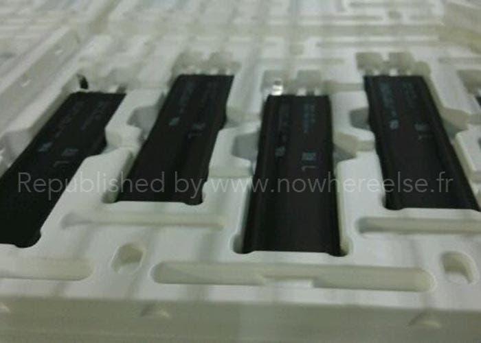 Baterías en una fábrica china