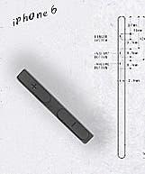 Botones de volumen del iPhone 6