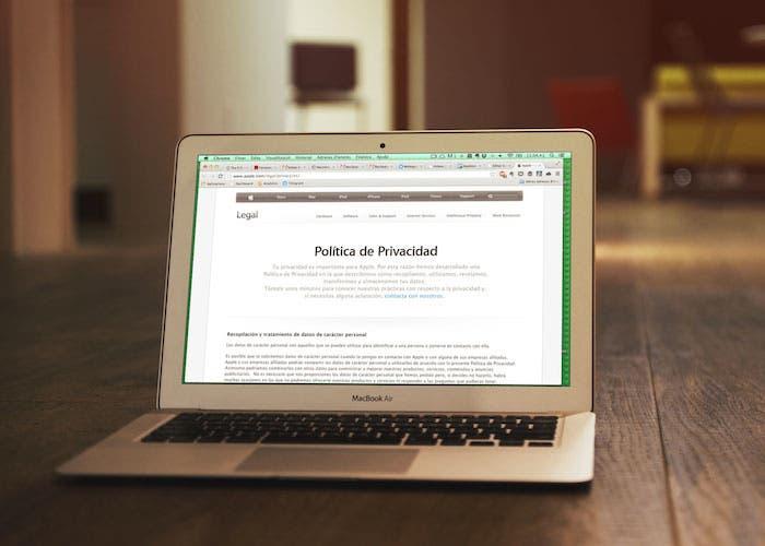 Cambios en la política de privacidad de Apple