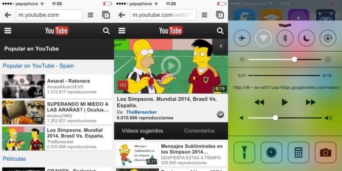 Reproduce Youtube en segundo plano con chrome