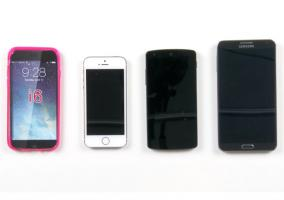 Videocomparativa del iPhone 6 con sus competidores