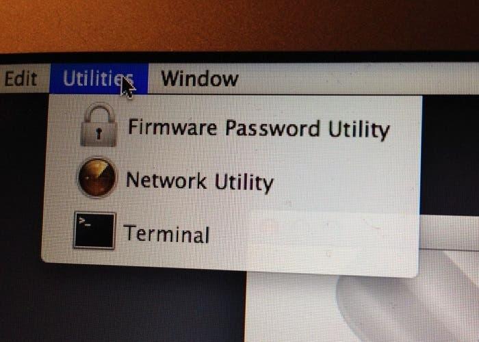 Establece una contraseña de firmware