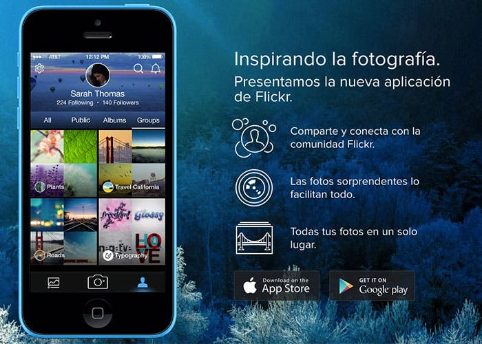 Nueva aplicación de Flickr para iPhone