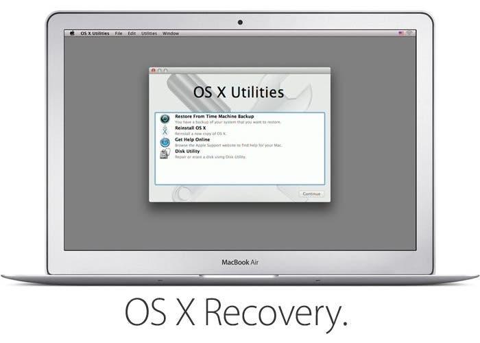 Acceder al modo Recovery en OS X