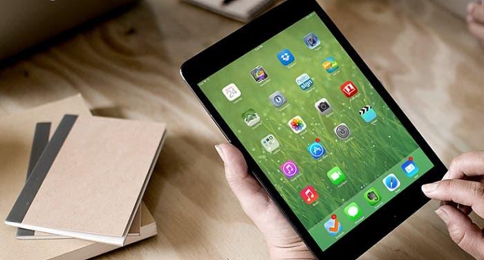 iPad mini con sistema operativo iOS 7