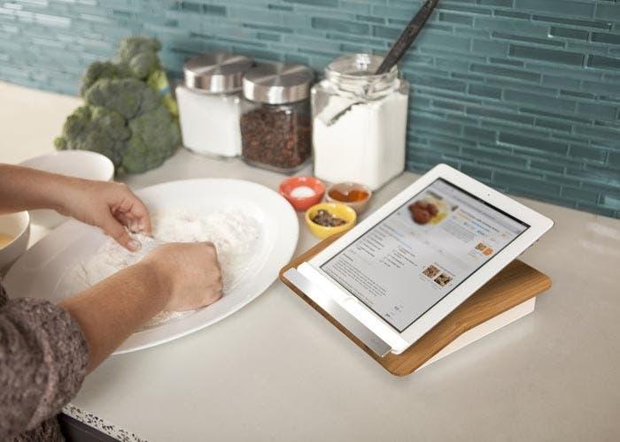 Cocinando con un iPad