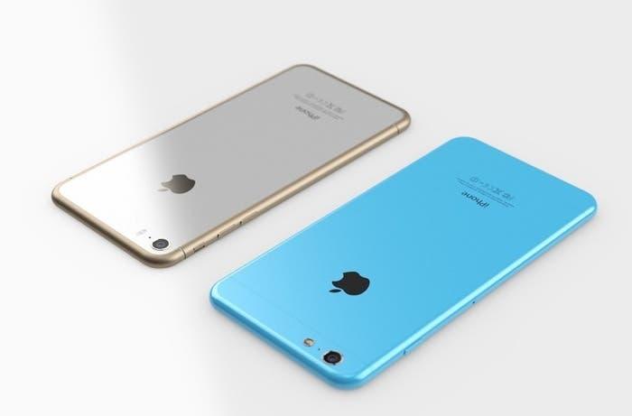 iPhone 6 y iPhone 6c 6