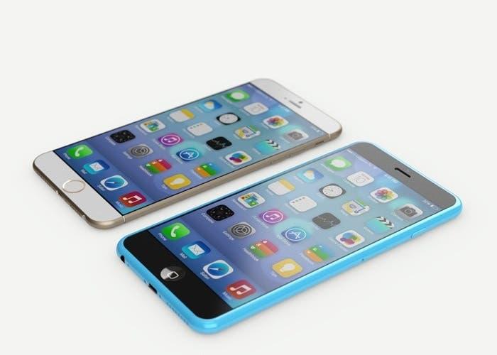 iPhone 6 y iPhone 6c 7