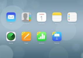 Interfaz web de iCloud