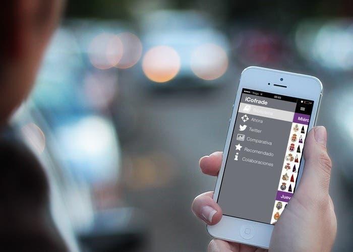 Aplicación iCofrade para iOS