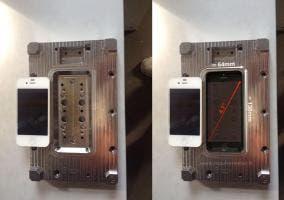 iPhone 4s en el molde del iphone 6