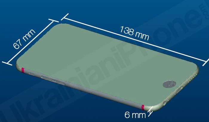 Captura de un plano del iPhone 6