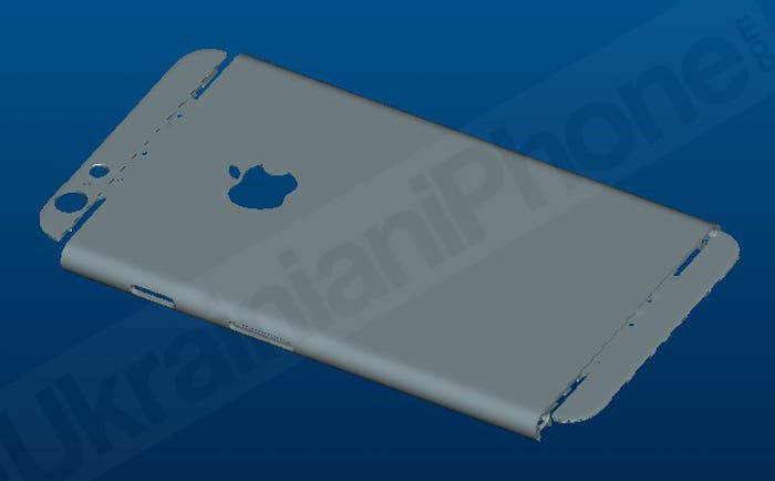 Captura de un plano del iPhone 6