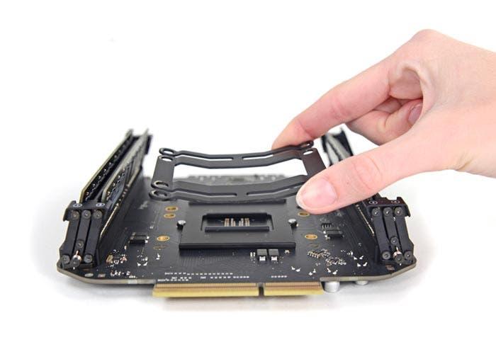 Cambio de procesador en el Mac Pro