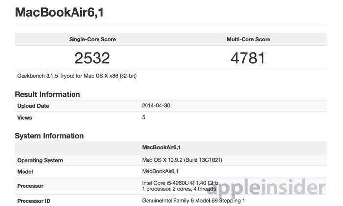 Test de rendimiento del nuevo MacBook Air