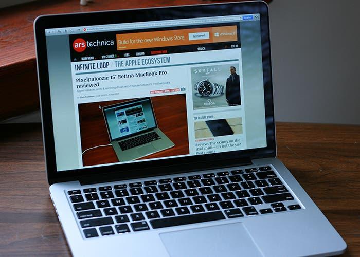 Pantalla del MacBook Pro Retina