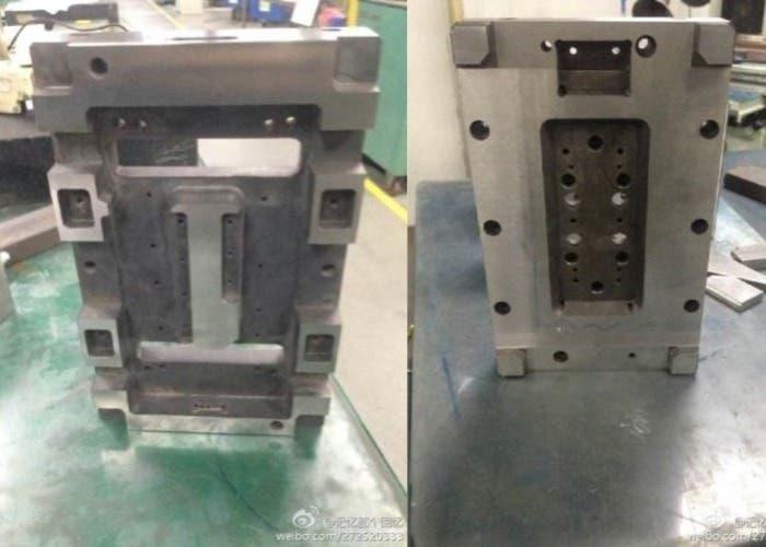 Filtraciones del posible molde del iPhone 6