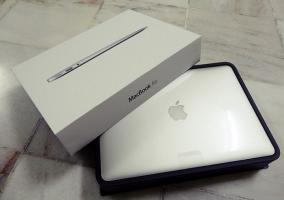Empaquetado del MacBook Air