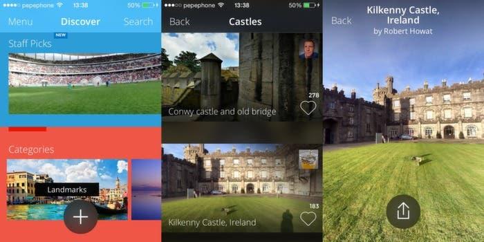 Fotografias en 360º en iPhone