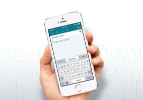 SwiftKey en el iPhone 5s