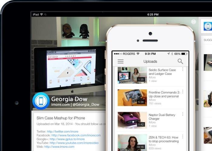 Youtube en iPhone y iPad