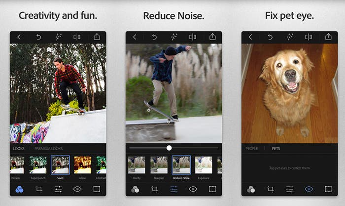 Edita tus imágenes con Adobe Photoshop Express