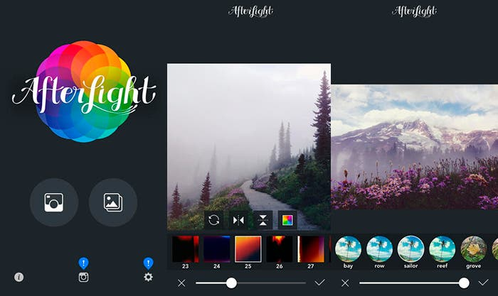 Gestiona y edita tus fotos con Afterlight
