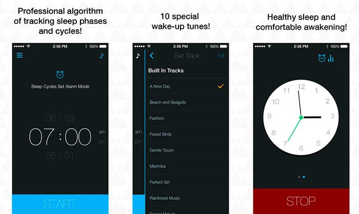 Aplicación alarma inteligente para iOS