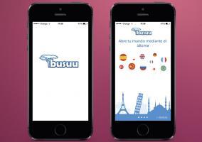 Aplicación Busuu en iPhone 5s