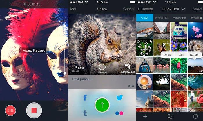 Camara Plus Pro, aplicación para editar tus vídeos