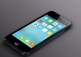 Uno de los posibles aspectos de iOS 8
