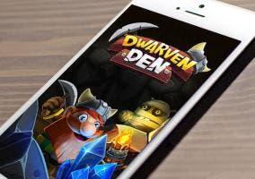 Juego Dwarven Den en iOS