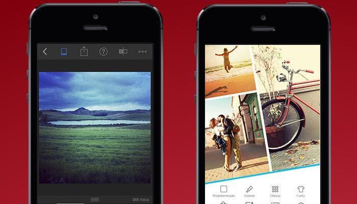 Gestión y edición de fotos en iPhone 5s