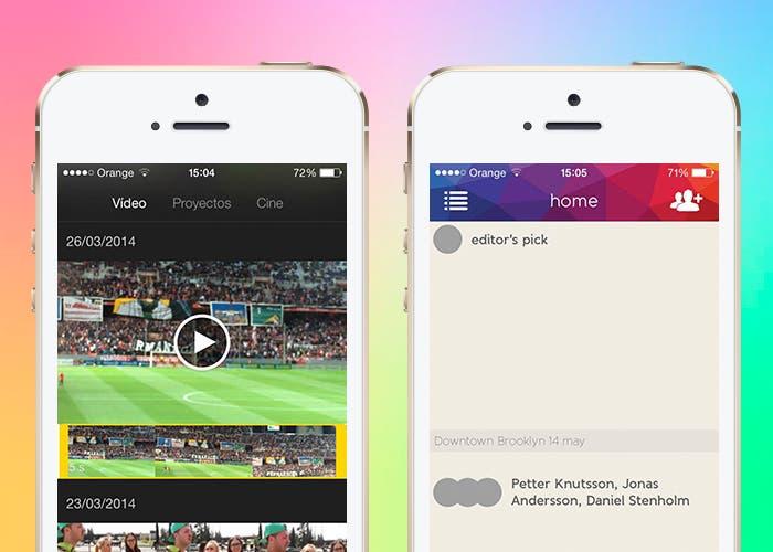 iMovie y Vyclone en iPhone 5s