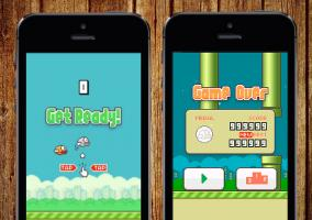 Flappy Bird en iPhone 5s