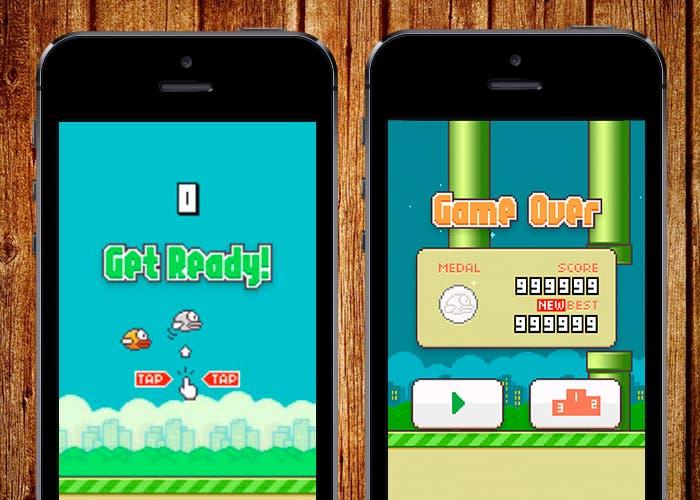 Flappy Bird en iPhone 5s