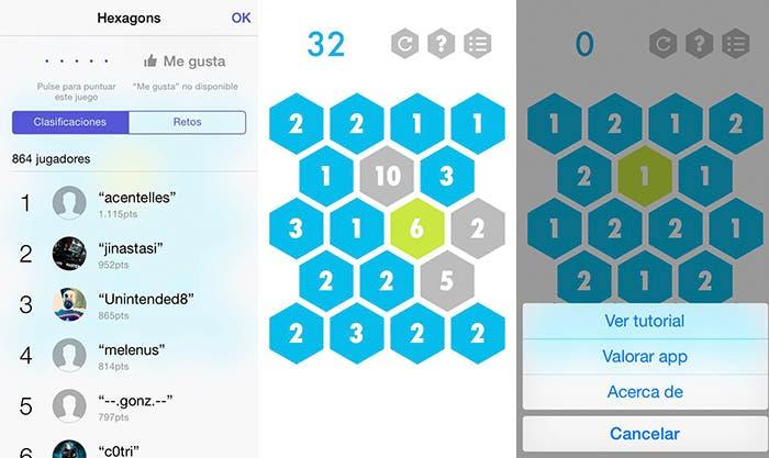 Juega a Hexagons en tu iPhone, iPad o iPod touch