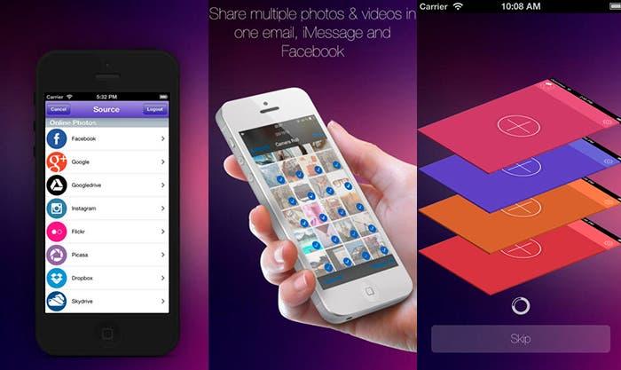 Comparte tus fotos y vídeos de manera rápida y sencilla con InstaMail