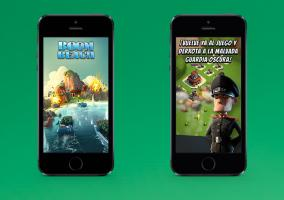 Boom Beach en iPhone 5s
