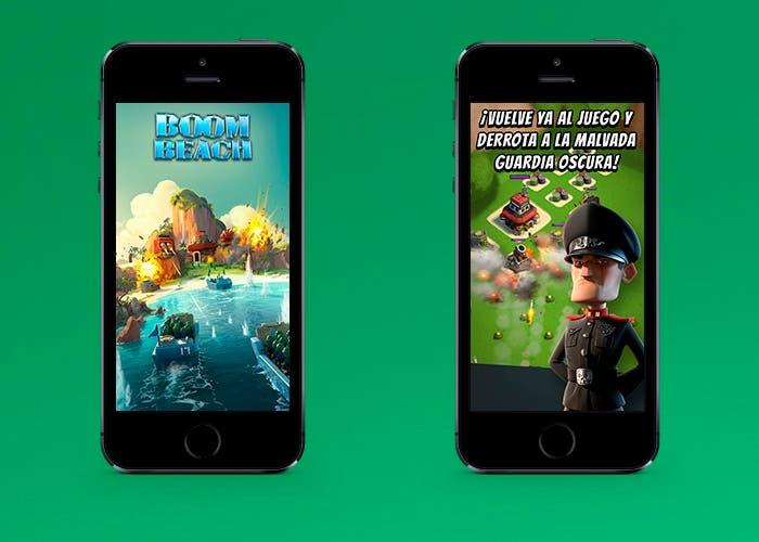 Boom Beach en iPhone 5s